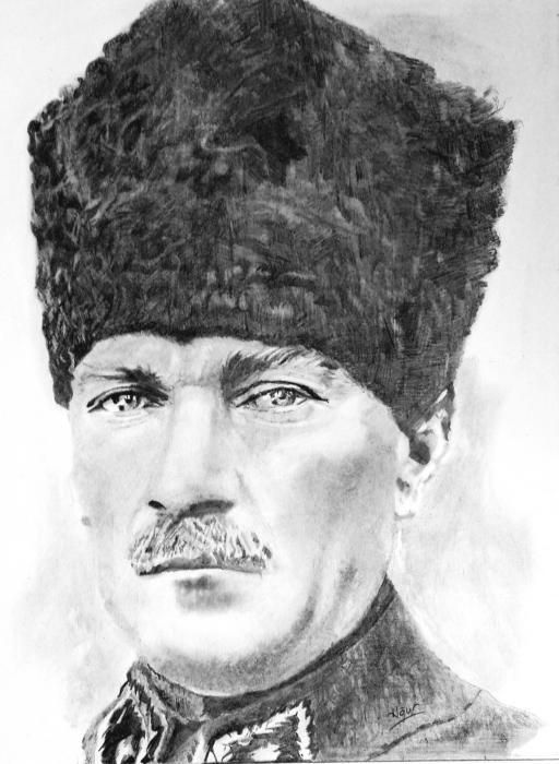 Mustafa Kemal Atatürk by andromeda9999